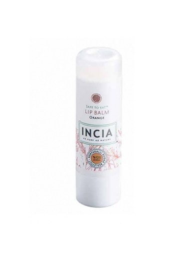 Incia Incia Safe To Eat Lip Balm Orange 6g Renksiz